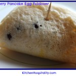 Blueberry Pancake Egg Foldover