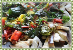 Raw Vegetable Medley from Griddle to Grill