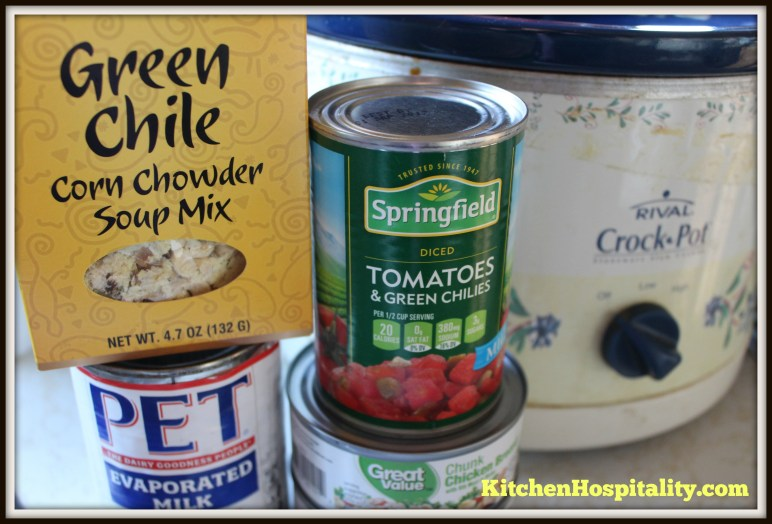 Slow Cooker Corn and Chicken Chowder