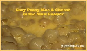 Easy Peasy Mac & Cheese in the Slow Cooker