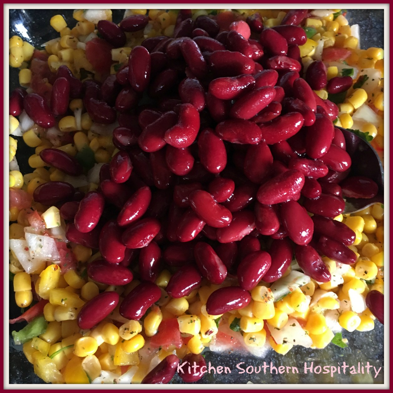 Corn and Kidney Beans