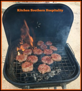 Grilled Hamburgers