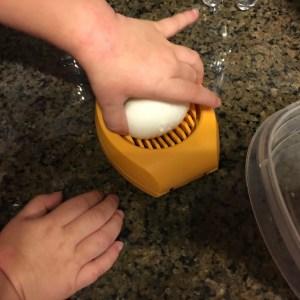 Easy Egg Salad for a Toddler