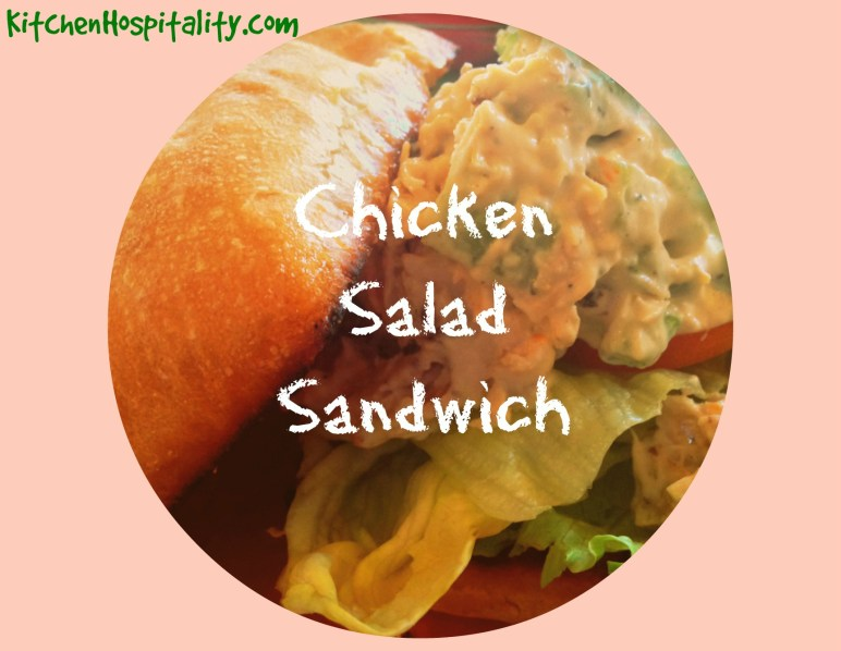 Kitchen Hospitality Chicken Salad Sandwiches