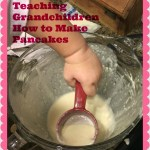 Teaching Grandchildren to Make Pancakes