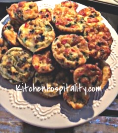 Quiche Crustless Muffins