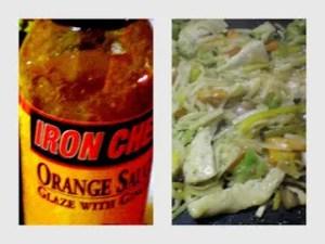 Orange-Garlic Lo Mein Chicken