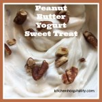 Peanut Butter Yogurt Dessert for Two