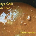Ribeye Chili – a Slow Cooker Meal for Two