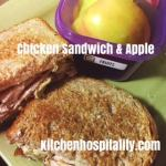 Slow Cooker Baked Chicken & a Chicken Avocado Sandwich Snack for Two