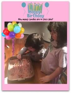 celebrating birthdays with grandchildren