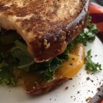 Guiltless Semi-Vegetarian Grilled Cheese Sandwich