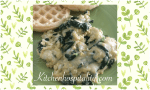 Spinach and Creamy Scrambled Eggs