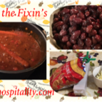 Chili & the Fixin's – Before and After Thanksgiving Meals