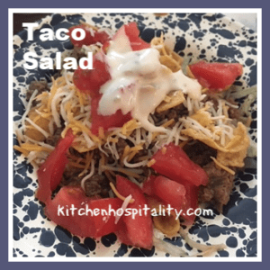 taco salad meals for one or two