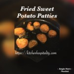 Sweet Potato Patties for a Low Carb Diet