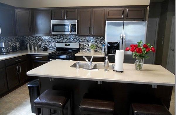 Kitchen Image - Kitchen & Bathroom Design Center on Dark Maple Cabinets  id=77272