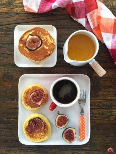 İncirli ve Taze Lorlu Pancake Tarifi