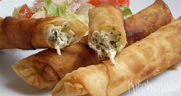 Sıgara böreği – filodeegrolletjes met witte kaas