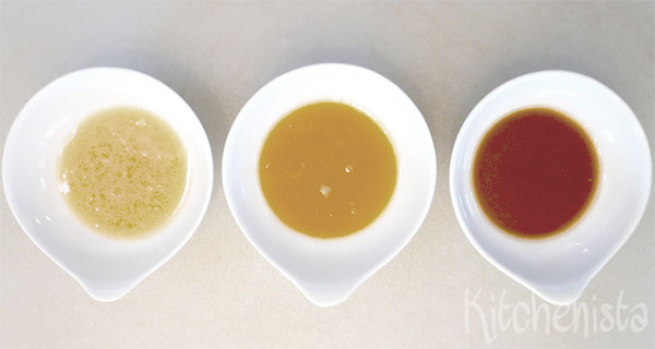 Basis voor gebonden sauzen en soepen: roux