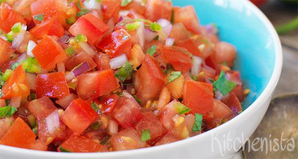 Verse tomatensalsa