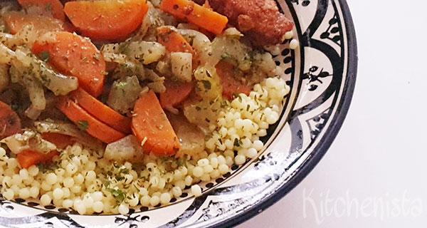 Groentestoof met wortel, bleekselderij en venkel