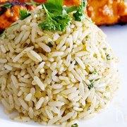 Korianderrijst, heerlijk bij Oosterse gerechten
