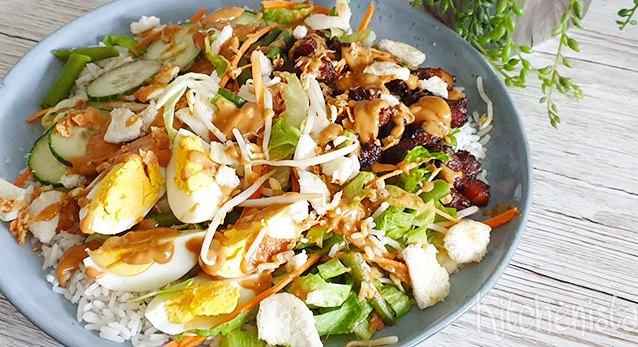 Gado-gado – Indisch groentegerecht met ei en pindasaus