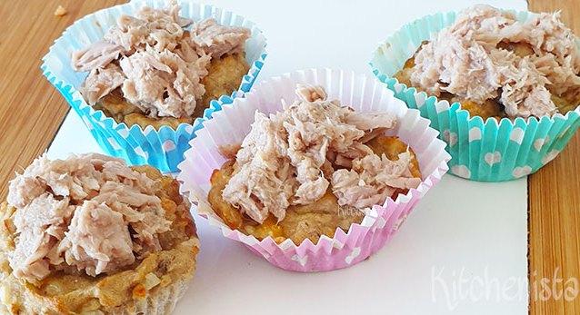 Tonijn cupcakes voor de poes (die je zelf ook kunt eten)