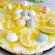 No bake citroen cheesecake – tip voor Pasen!
