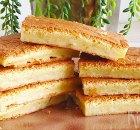 Klappertaart – Indonesische zoete snack met jonge kokosnoot