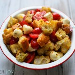 Fresh Tomato and Mozzarella Panzanella