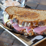 Reuben Sandwich with Homemade Russian Dressing