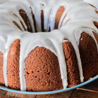 Pumpkin Spice Bundt Cake - Kitchen Joy