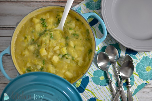 Creamy Russet and Leek Soup (9)