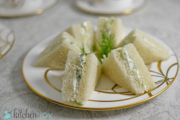Cucumber Sandwiches Kitchenjoy