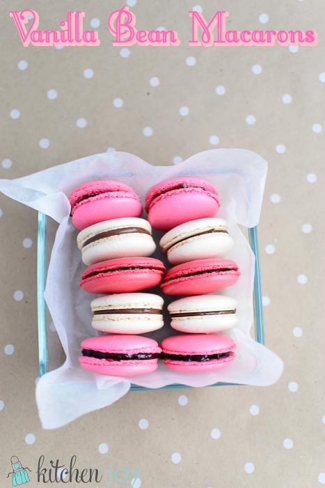 Vanilla Bean Macarons Recipe