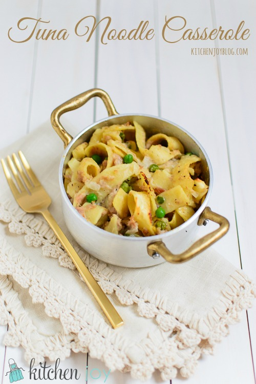 Tuna Noodle Casserole - Kitchen Joy