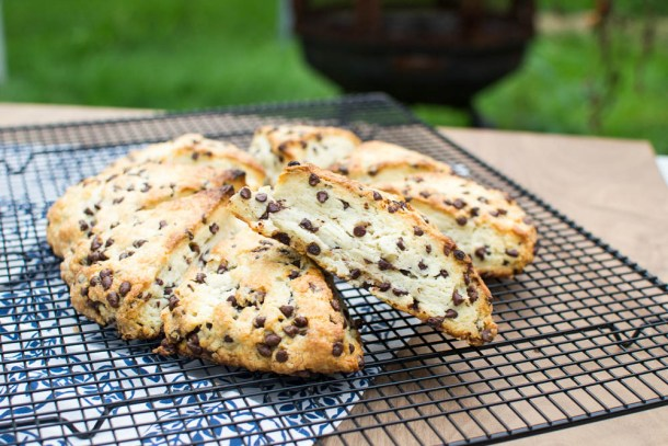 Chocolate Chip Scones - Kitchen Joy