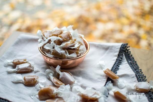 Apple Cider Caramels - Kitchen Joy
