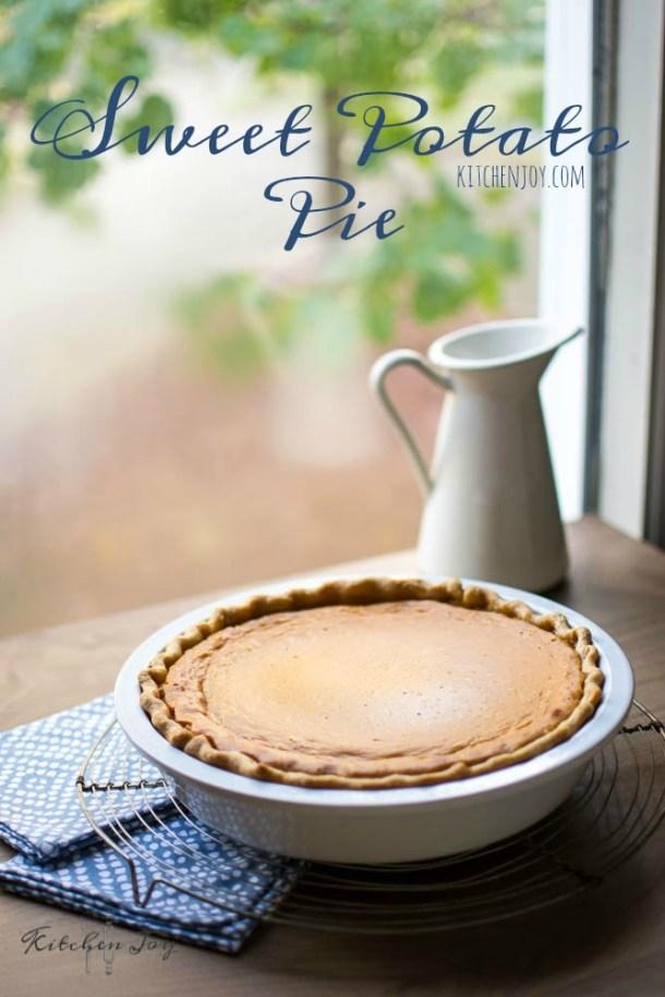 Sweet Potato Pie - Kitchen Joy®
