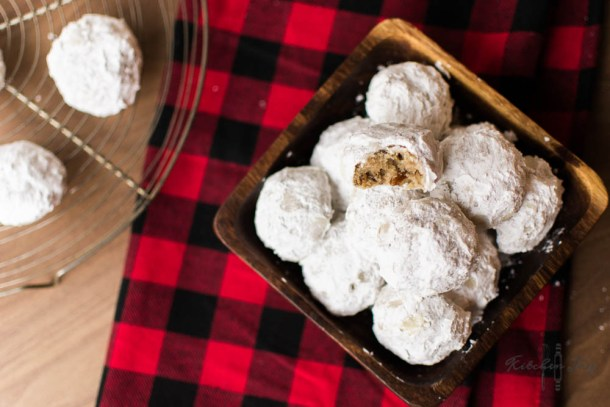 Pecan Snowball Cookies -Kitchen Joy®