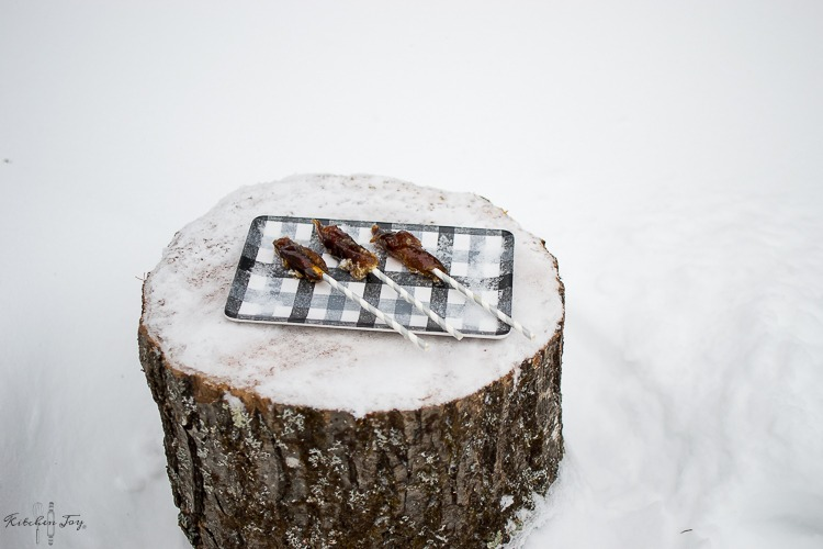 4cbc2eadaa5 Snow Day Treat! Maple Snow Taffy - Kitchen Joy