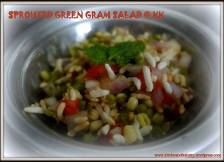 sproutedgreengramsalad