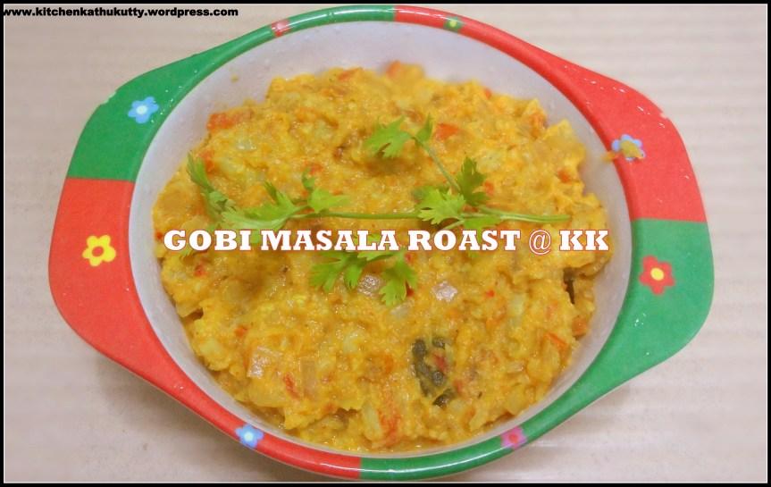 gobi masala roast