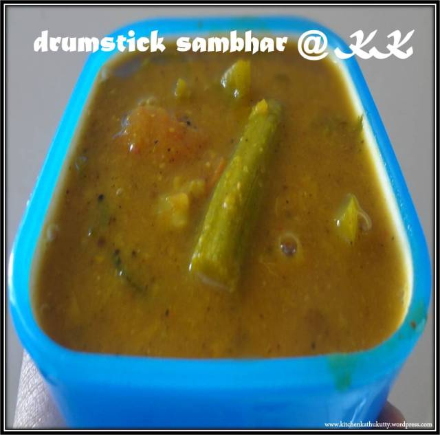 drumsticksambhar