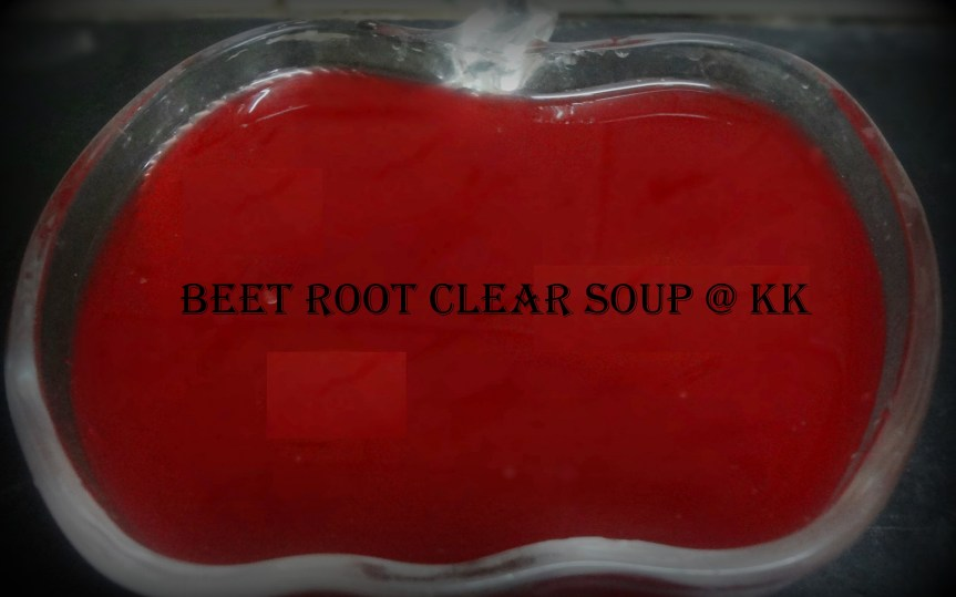 beet root soup