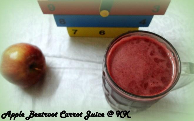 apple beet root carrot juice