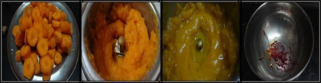 carrot kheer or carrot payasam