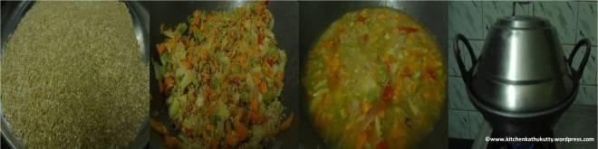 almond dalia veg khicidi